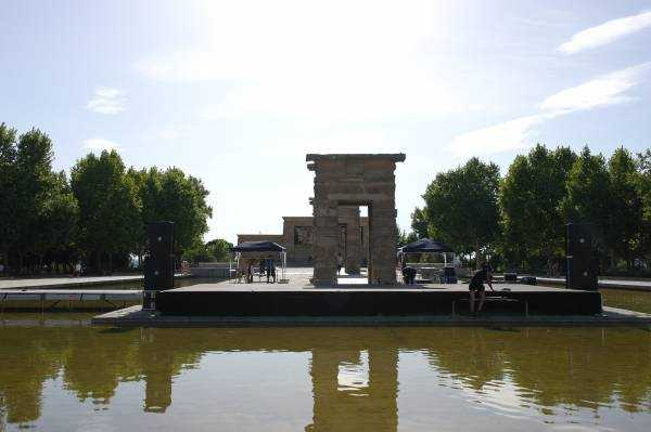 The Templo de Debod