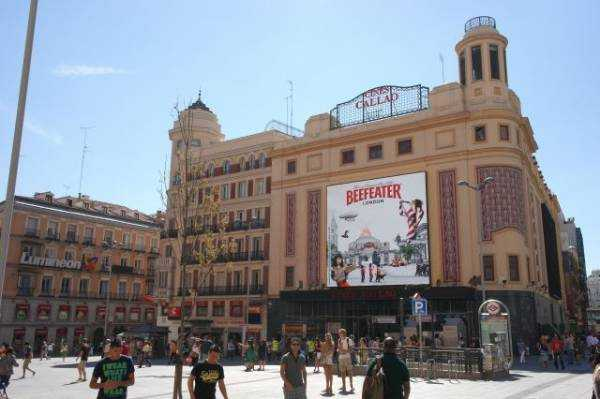 Plaza de Callao  - Madrid
