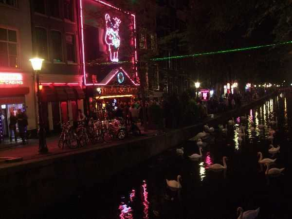 Amsterdam - Red Light District - Casa Rosso