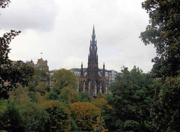 The Scott Monument - Edinburgh