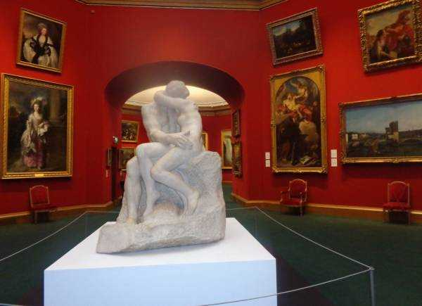 Rodin'in Kiss adlı eseri - Scottish National Gallery