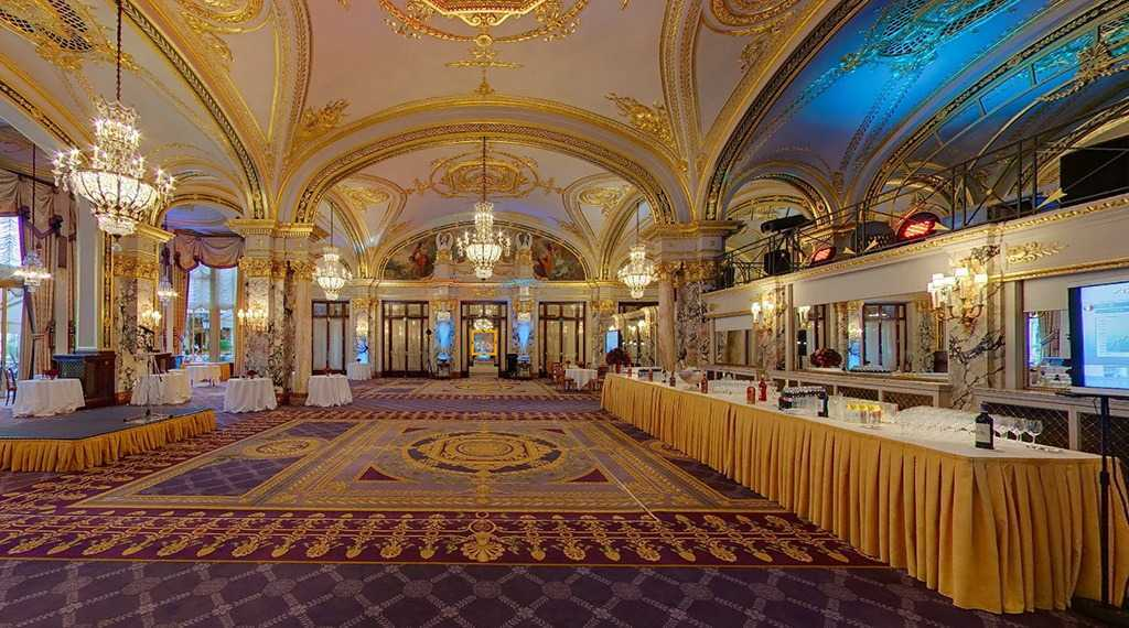 Hotel de Paris - Salle Empire Yemek Salonu
