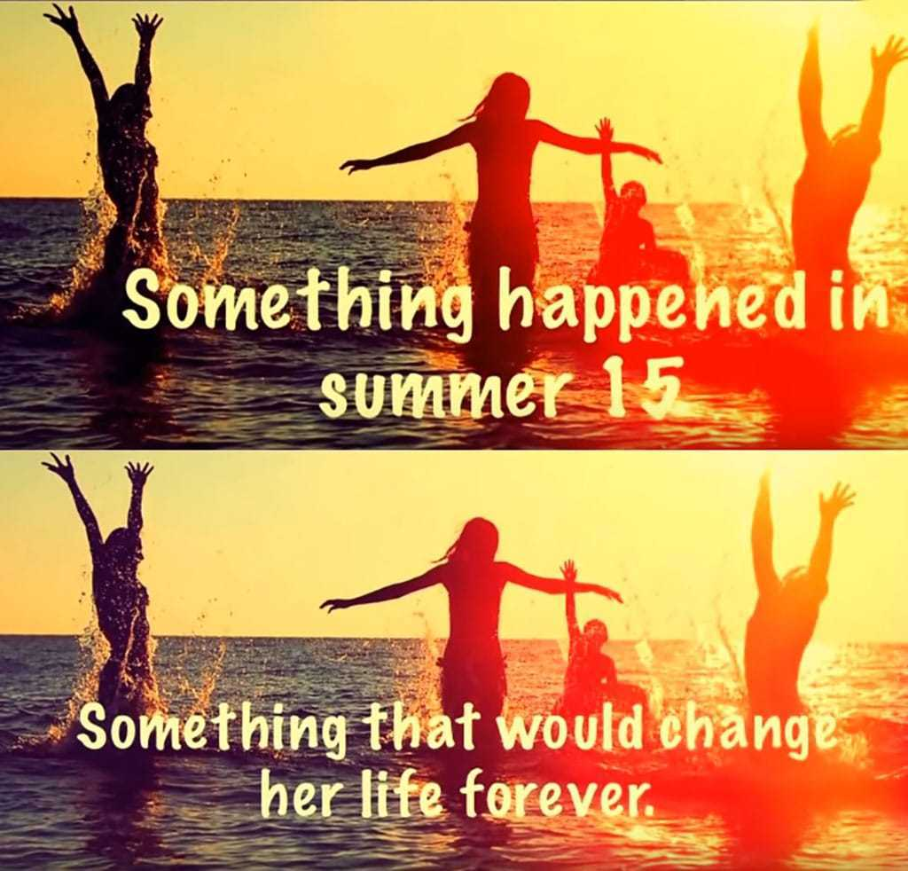 Something that would change her liffe forever.