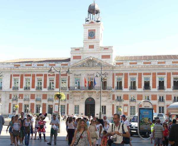 Postane Binası Casa de Correos - Puerta Del Sol - Madrid
