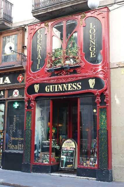 Barselona - Guinnes Cafe