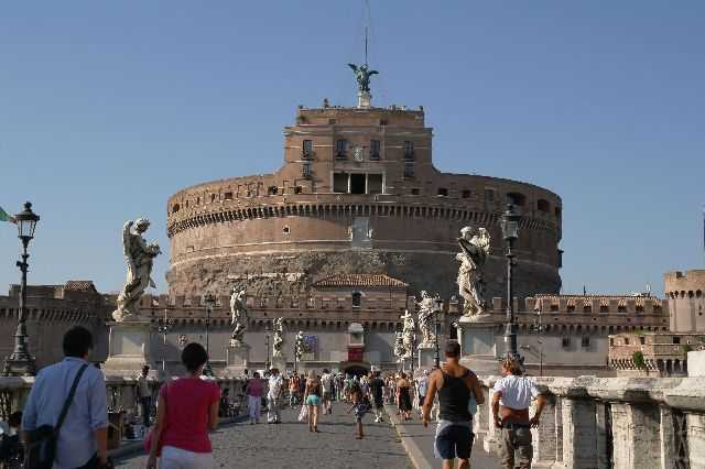 Roma - Castel Sant'Angelo and the Bridge of Angels