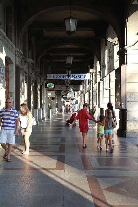 Cagliari çarşısı