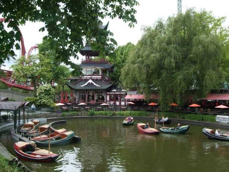 Kopenhag - Tivoli Bahçeleri