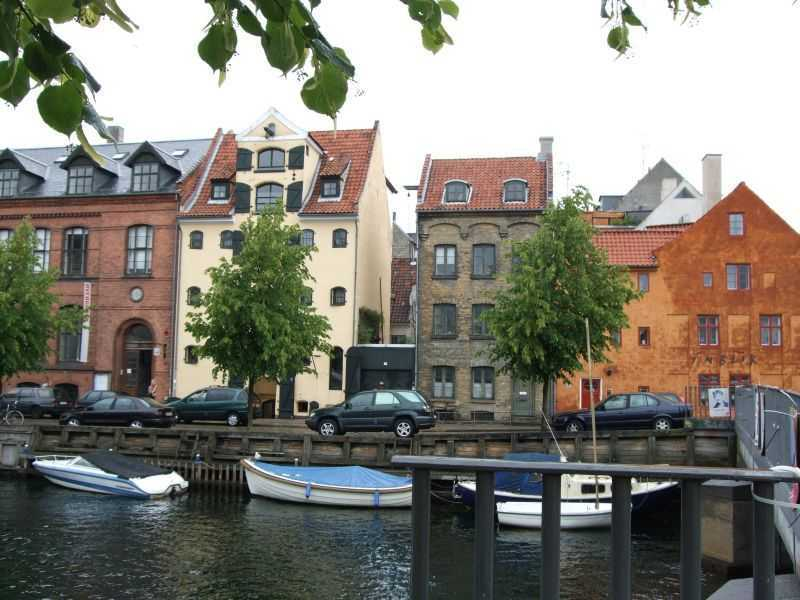 Kopenhag - Eski Liman (Christianshavn) civarı