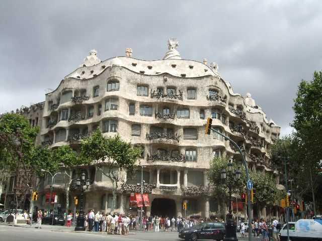 Barselona - Casa Mila