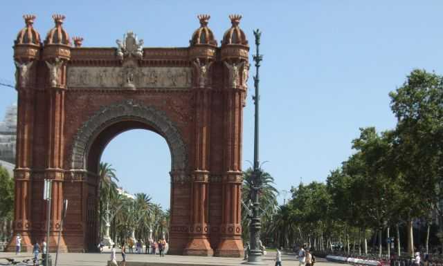 Barselona - The Arc de Triomf