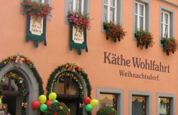 Käthe Wohlfahrt - Rothenburg ob der Tauber