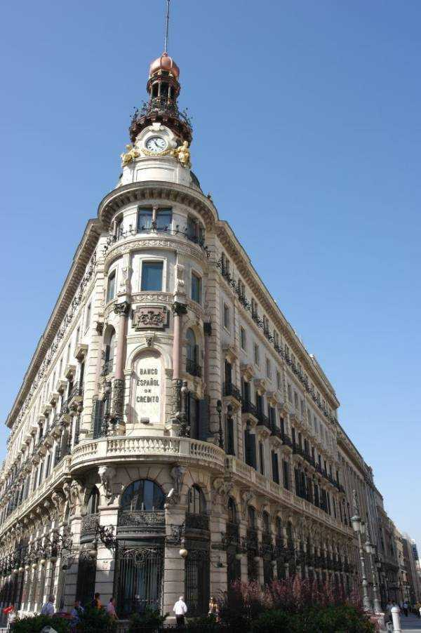 Banco Espanol - Calle de Alcala- Madrid