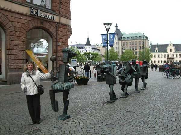 Malmö - Müzisyenler heykeli