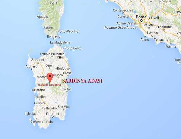 Roma ve Sardinya Adası - Google Maps