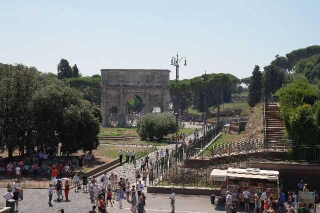 Roma - Kolezyum civarı