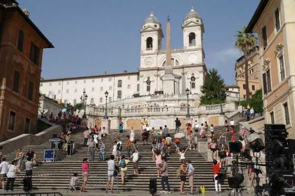 Scalinata della Trinità dei Monti: İspanyol merdivenleri