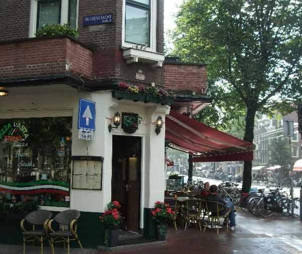 Amsterdam kafe-bar