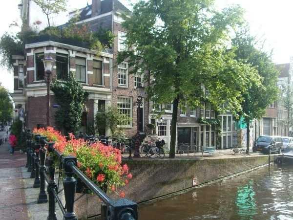 Amsterdam kanalları