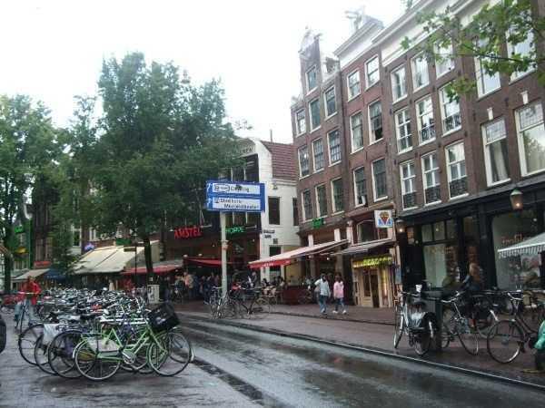 Amsterdam - Amstel Meydanı