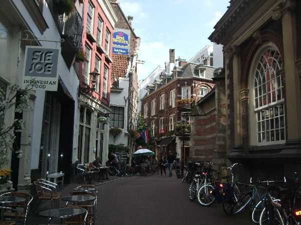 Amsterdam ara sokaklar