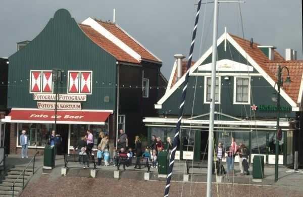 Volendam sahil bölgesi
