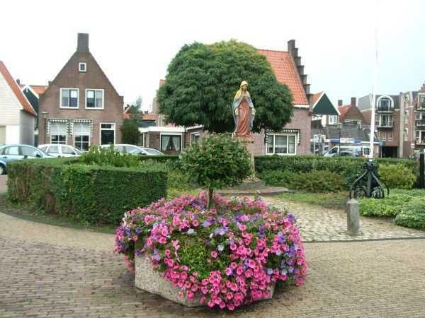 Edam kasabası merkezi