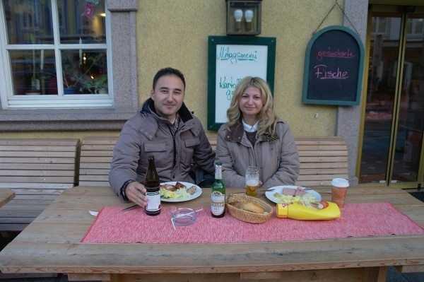 Mondsee'deki favori restoranımız :)