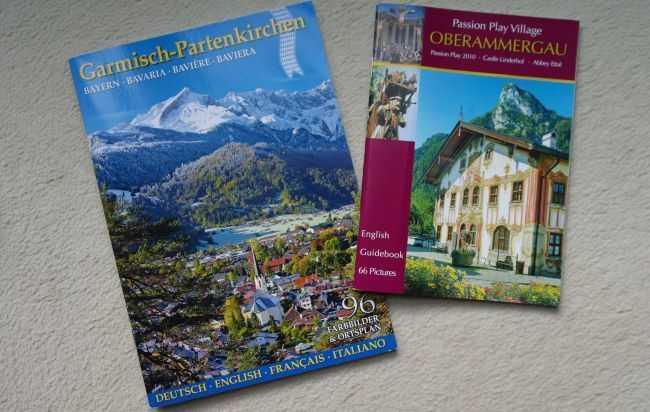 Garmisch-Partenkirchen ve Oberammergau gezi kitapçıklarımız...