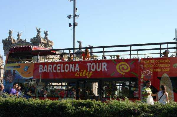 Barselona şehir turu otobüsleri