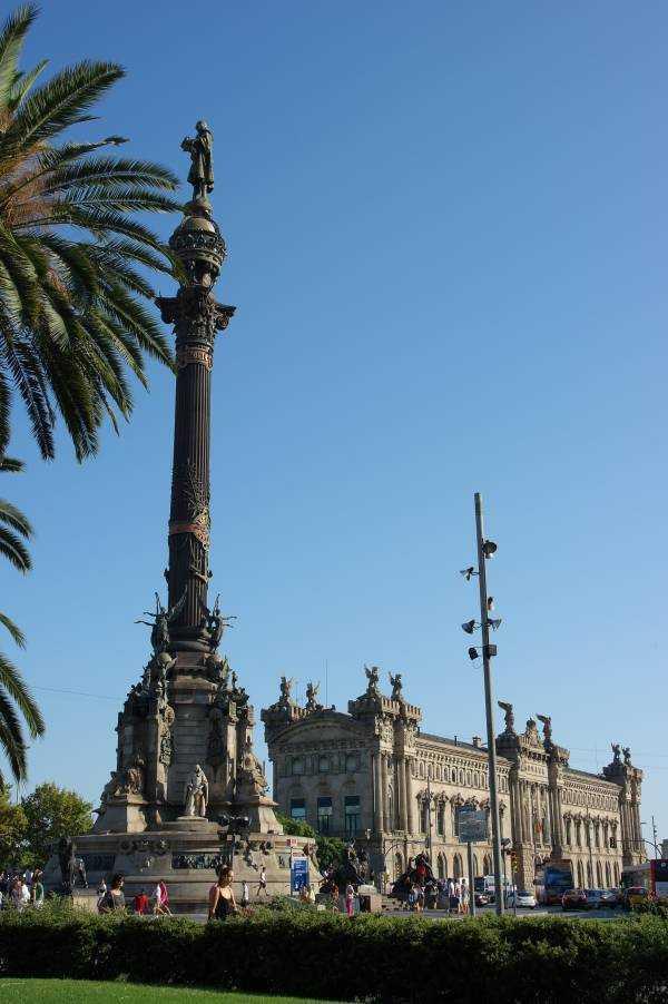 Barselona - Columbus Heykeli