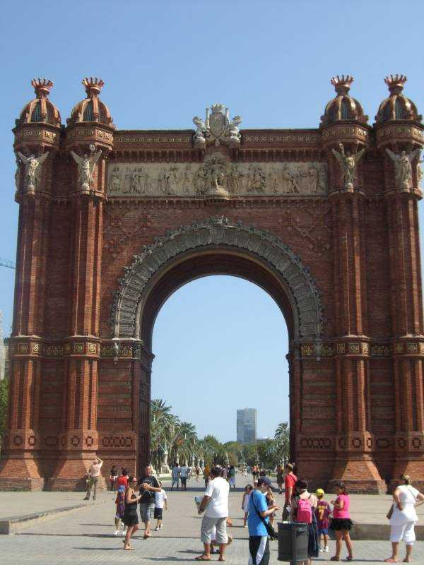The Arc de Triomf