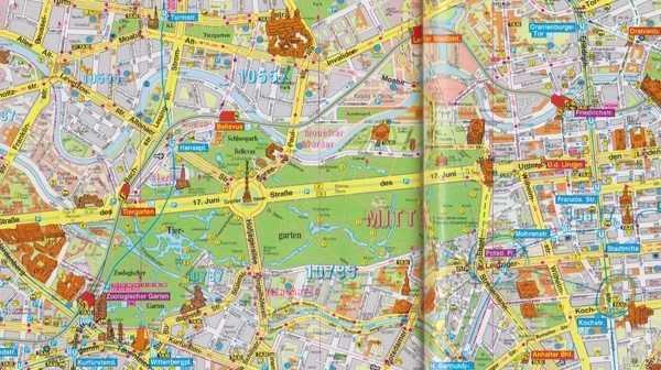Tiergarten, Berlin gezi kitapçığı - Schöning GmbH Yayınları