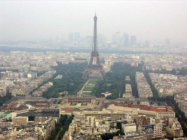 Montparnasse Kulesi'nden manzara