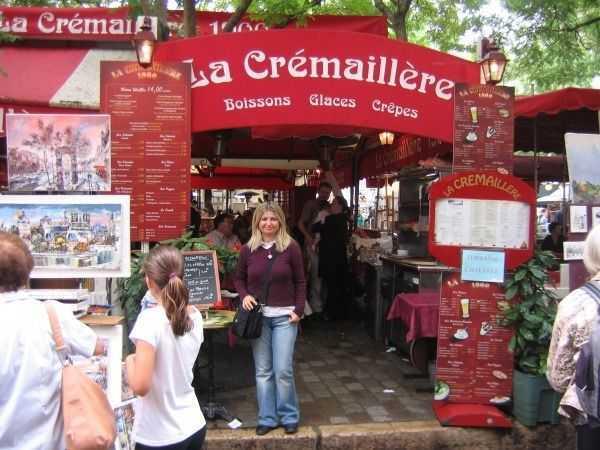 Monmartre meydanı