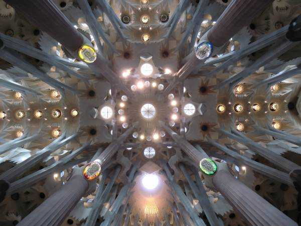 La Sagrada Familia © Wikimedia Commons