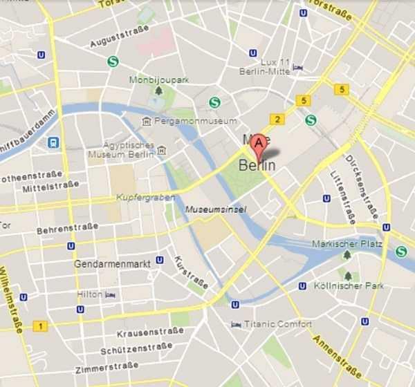 Müzeler Adası - © Google Maps