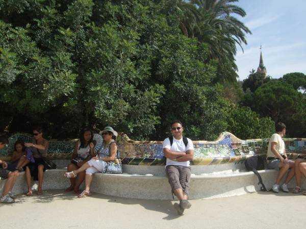 Park Güell seyir terası
