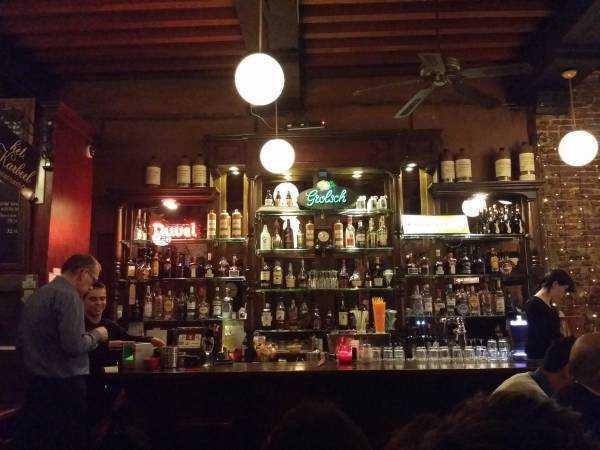 Amsterdam restoran-bar