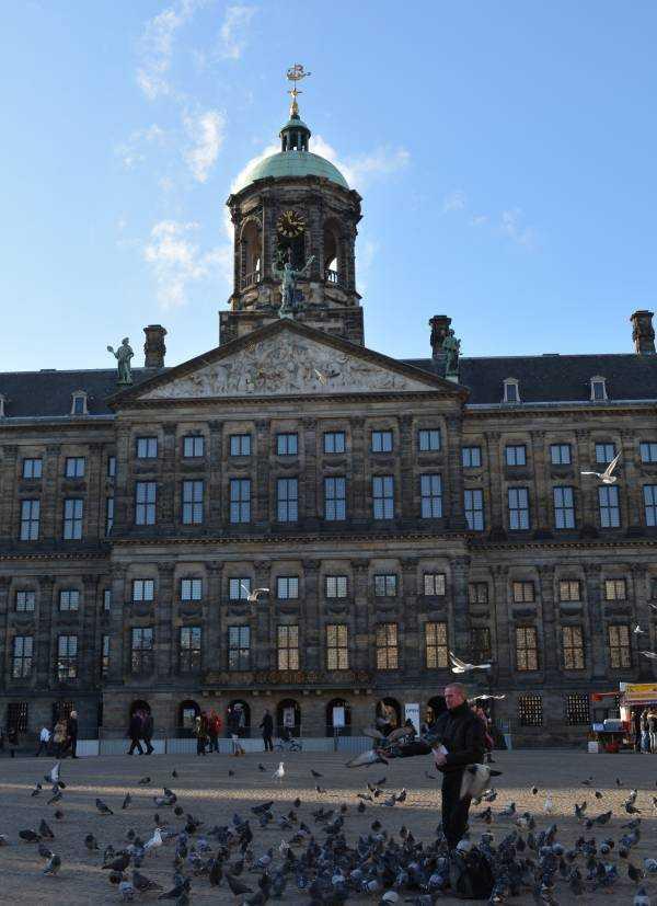 Amsterdam - Dam Meydanı