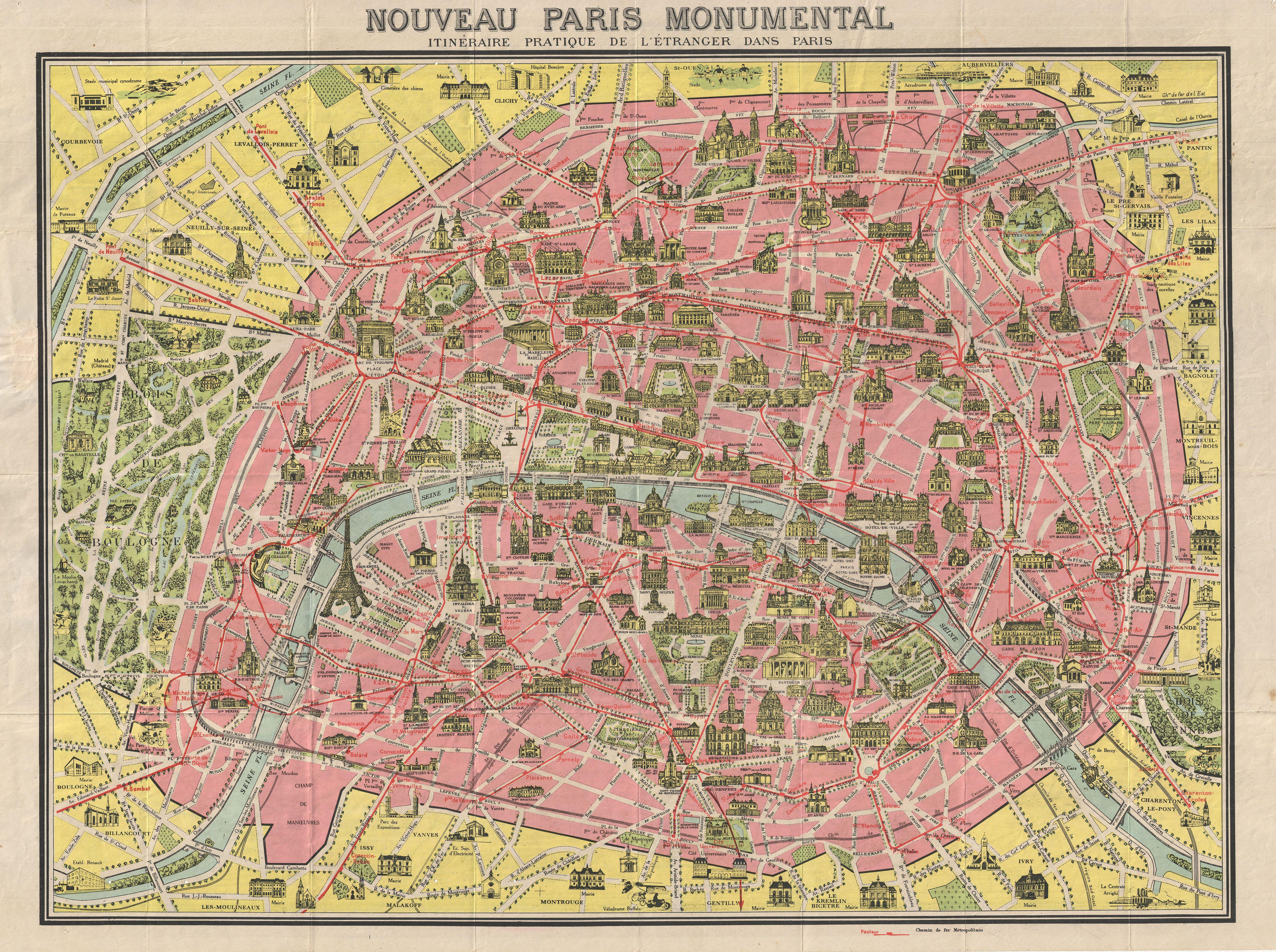 Paris önemli yerler - © Wikimedia Commons