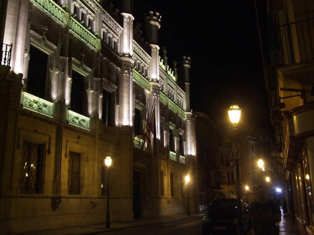 Palma'nın güzel binaları