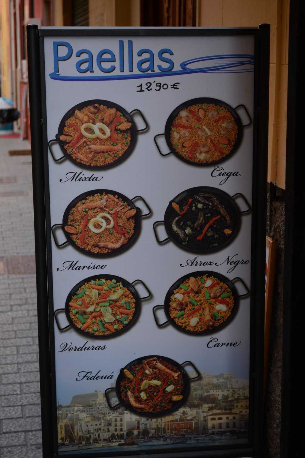 Paella çeşitleri