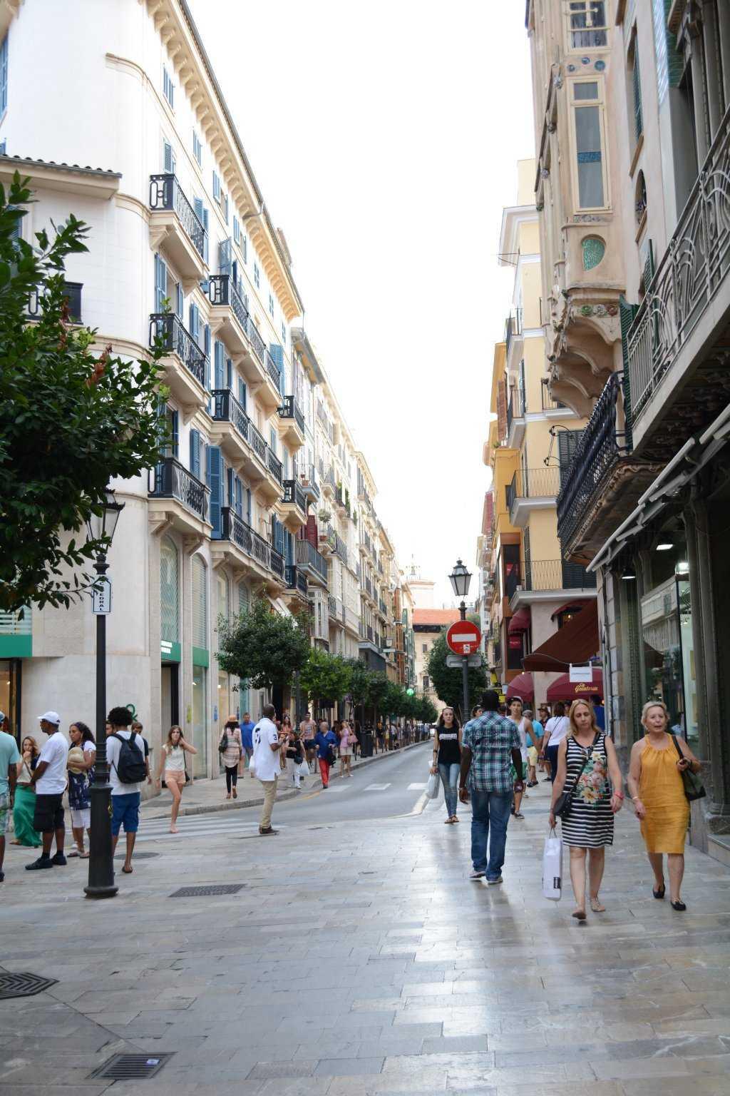 Palma sokakları