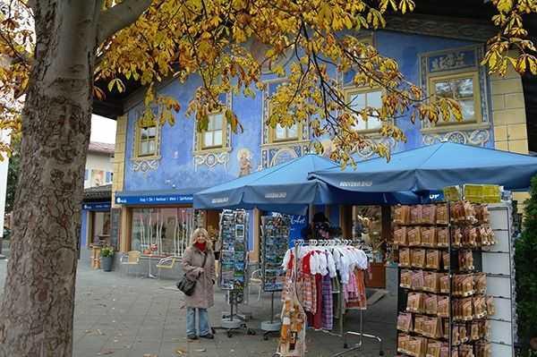 Garmish bölgesi - Hediyelik eşya dükkanı