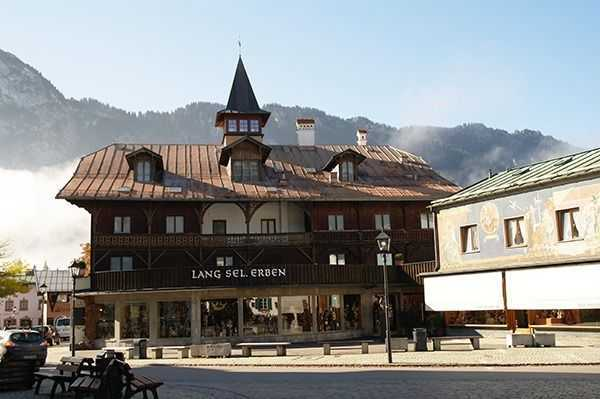 Oberammergau - Kofel dağı