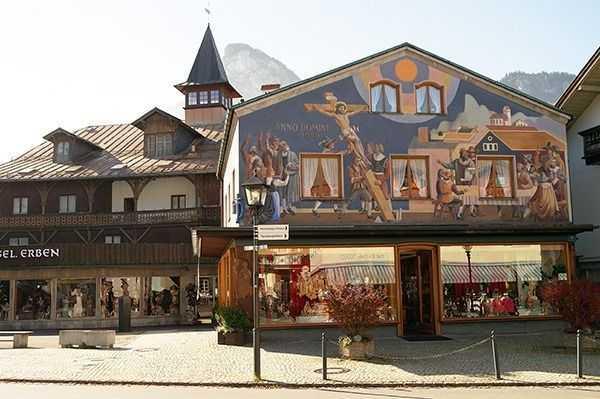 Oberammergau - Heinzeller Evi