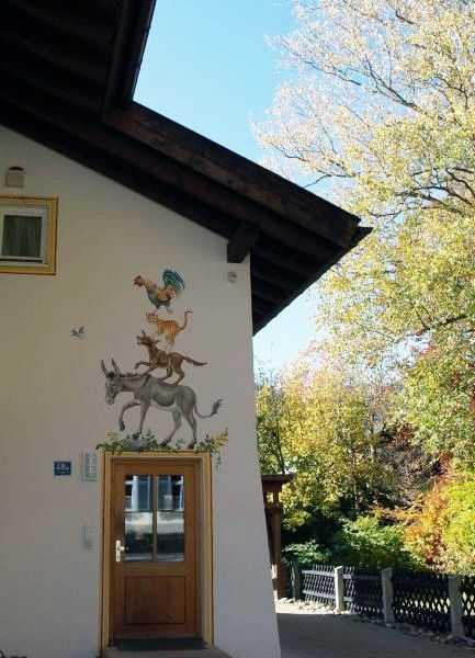 Oberammergau - Bremen Mızıkacıları Evi