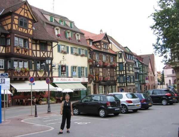 Güzel Alsaz evleri - Colmar