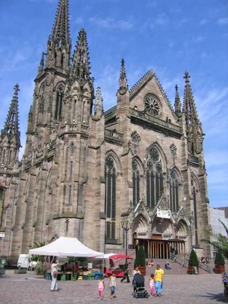 Saint Etienne Kilisesi - Mulhouse